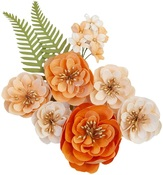 Together Flowers - Pumpkin & Spice - Prima