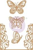 Butterfly Flight Chipboard Diecut - Prima