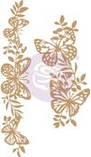 Butterfly Borders Chipboard Diecut - Prima