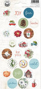The Four Seasons- Winter Cardstock Stickers #02 - P13 - PRE ORDER