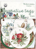 The Four Seasons- Winter Cardstock Tags #1 - P13 - PRE ORDER