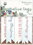 The Four Seasons- Winter Cardstock Tags #2 - P13 - PRE ORDER