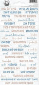 Beyond The Sea Cardstock Stickers #1 - P13