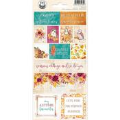 The Four Seasons-Autumn Cardstock Stickers #2 - P13