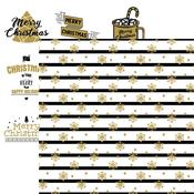 Snowflakes Paper - Christmas Greetings - Reminisce - PRE ORDER