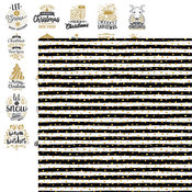 Gold Dots Paper - Christmas Greetings - Reminisce - PRE ORDER
