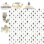 Christmas Trees Paper - Christmas Greetings - Reminisce - PRE ORDER