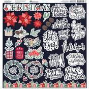 Christmas Spruce Cardstock Stickers - Christmas Spruce - Reminisce - PRE ORDER