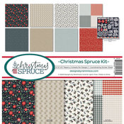 Christmas Spruce Collection Kit 12 x 12 - Christmas Spruce - Reminisce
