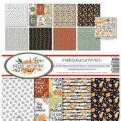 Hello Autumn Collection Kit 12 x 12 - Hello Autumn - Reminisce