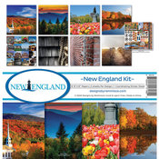 New England Collection Kit 12 x 12 - Reminisce