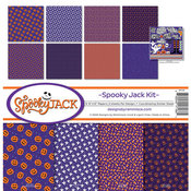 Spooky Jack Collection Kit 12 x 12 - Spooky Jack - Reminisce