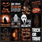 The Silver Scream Cardstock Stickers 12 x 12 - The Silver Scream - Reminisce - PRE ORDER