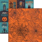 Spider Web Paper - Fright Night - Reminisce - PRE ORDER