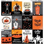 Fright Night Cardstock Stickers 12 x 12 - Fright Night - Reminisce - PRE ORDER