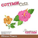 Hibiscus Flowers Dies 2.1 x 3.7 - Cottage Cutz