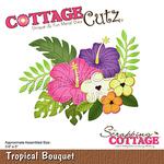 Tropical Bouquet Dies 3.6 X 3 - Cottage Cutz
