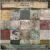 Departed 8 x 8 Paper Pad - Tim Holtz - PRE ORDER