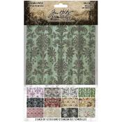 Halloween Idea-Ology Worn Wallpaper - Tim Holtz