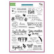 We Stand With You Collaborative Stamp Set - The Stamping Village
