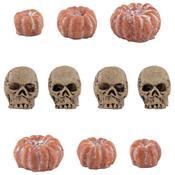 Idea-Ology Mini Skulls & Pumpkins - Tim Holtz