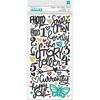 Storyteller Phrase & Icon Puffy Stickers - Vicki Boutin