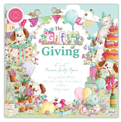 The Gift Of Giving 6 x 6 Paper Pad - Craft Consortium - PRE ORDER