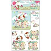 The Gift Of Giving 3D Decoupage & Topper Set - Craft Consortium