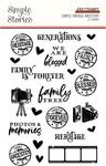 Simple Vintage Ancestry Clear Stamps - Simple Stories