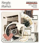 Simple Vintage Ancestry Portrait Bits & Pieces - Simple Stories - PRE ORDER