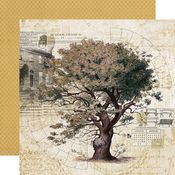 Family Tree Paper - Simple Vintage Ancestry