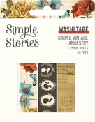 Simple Vintage Ancestry Washi Tape - Simple Stories