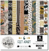 12x12 Paper Pack - 6 Feet Apart - Wild Whisper Designs - PRE ORDER