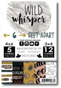 Card Pack - 6 Feet Apart - Wild Whisper Designs - PRE ORDER