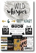 DOUBLE Card Pack - 6 Feet Apart - Wild Whisper Designs - PRE ORDER