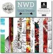 12x12 Paper Pack - Tinbit Travels - Wild Whisper Designs - PRE ORDER