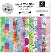 12x12 Paper Pack - Simplicity - Wild Whisper Designs
