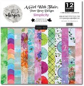 DOUBLE 12x12 Paper Pack - Simplicity - Wild Whisper Designs