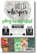 Card Pack - Play In The Dirt - Wild Whisper Designs - PRE ORDER