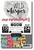 DOUBLE Card Pack - One More Chapter - Wild Whisper Designs - PRE ORDER