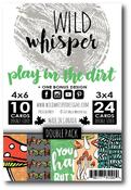 DOUBLE Card Pack - Play In The Dirt - Wild Whisper Designs - PRE ORDER
