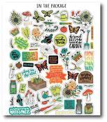 Garden Ephemera Pack - Play In The Dirt - Wild Whisper Designs - PRE ORDER