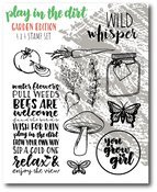 Play In The Dirt Garden Stamp Set - Wild Whisper Designs - PRE ORDER