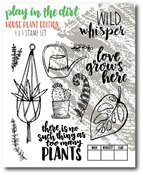 Play In The Dirt House Stamp Set - Wild Whisper Designs - PRE ORDER