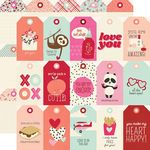 Sweet Talk Tags Paper - Simple Stories - PRE ORDER