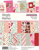 Sweet Talk 6x8 Pad - Simple Stories
