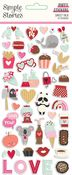Sweet Talk Puffy Stickers - Simple Stories - PRE ORDER