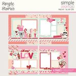 All My Love - Sweet Talk Simple Pages Page Kit - Simple Stories