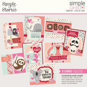 Lots of Love- Sweet Talk Simple Cards Card Kit - Simple Stories