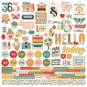 Hello Today Cardstock Sticker - Simple Stories